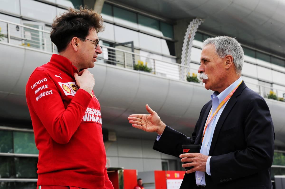 Liberty Media considera mantener el veto de Ferrari
