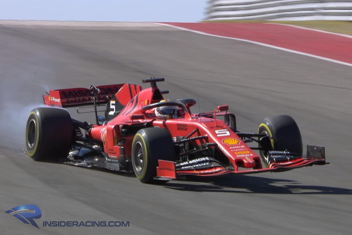 Vettel Baffled By Suspension Failure, Tips Ferrari To