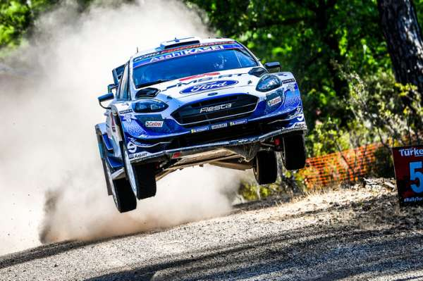 WRC: Rally Turkey 2020 - Best of action